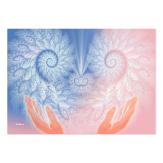 Healing Love Business Card Template