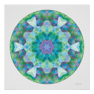 Healing Mandala 10 Poster