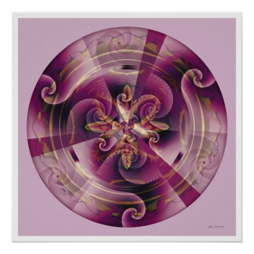 Healing Mandala 11 Posters