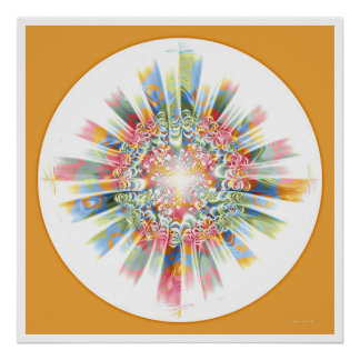 Healing Mandala 2 Poster