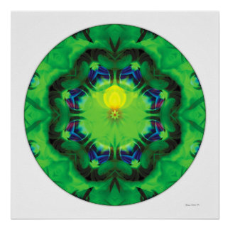 Healing Mandala 3 Poster