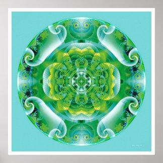 Healing Mandala 4 Poster