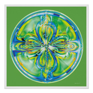 Healing Mandala 6 Poster