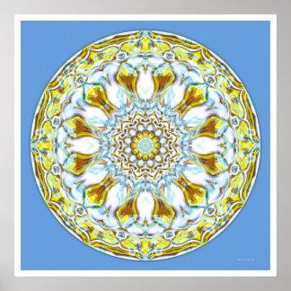Healing Mandala 8 Print