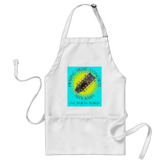 Healing Music Concerts in Lake Worth, Florida Adult Apron