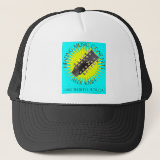 Healing Music Concerts in Lake Worth, Florida Trucker Hat