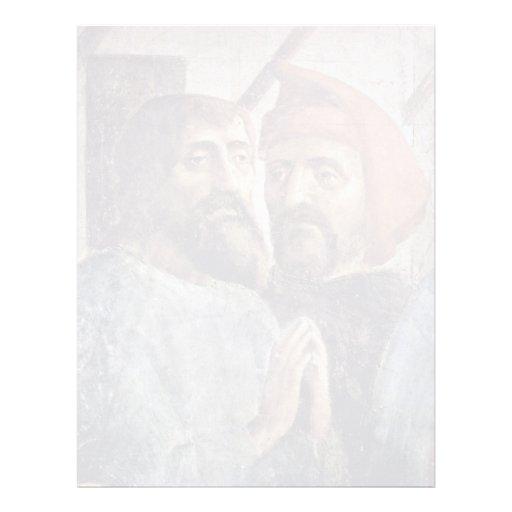 Healing Of Peter'S Shadow Detail By Masaccio (Best Custom Letterhead
