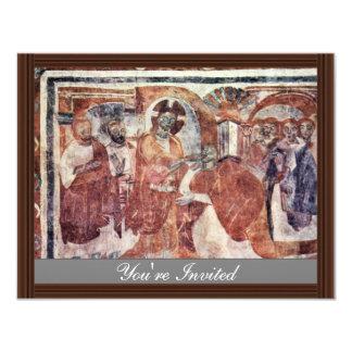 Healing Of The Deaf, By Meister Von Müstair (Best 4.25x5.5 Paper Invitation Card