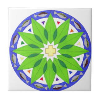 Healing of the Nations Ceramic Tile