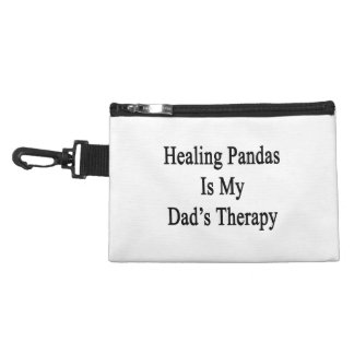 Healing Pandas Is My Dad's Therapy Accessories Bag
