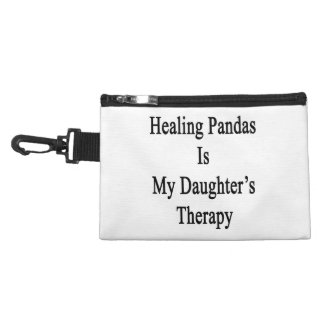 Healing Pandas Is My Daughter's Therapy Accessories Bags