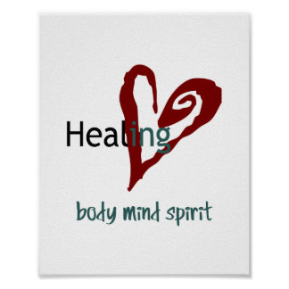 Healing Poster (standard picture frame size)