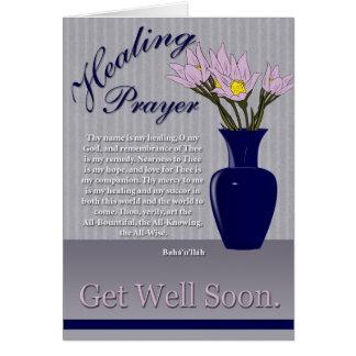 Healing Prayer Card