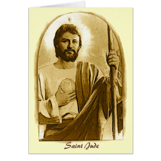 Healing Prayer to St. Jude Card