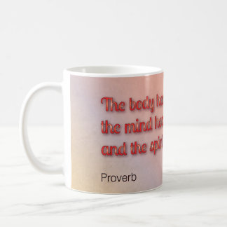 Healing Proverb Coffee Mug