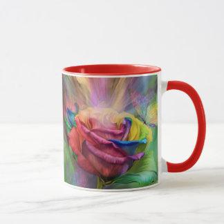 Healing Rose Art Mug