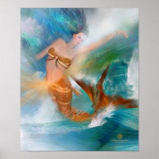 Healing Sacral Goddess Fine Art Poster/Print