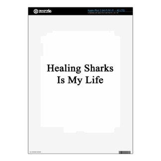 Healing Sharks Is My Life iPad 3 Skin