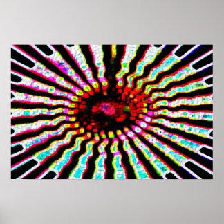 Healing Star -  Solar Plexes Poster