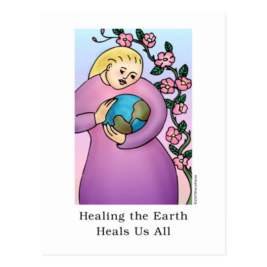 Healing the Earth Heals Us All Postcard