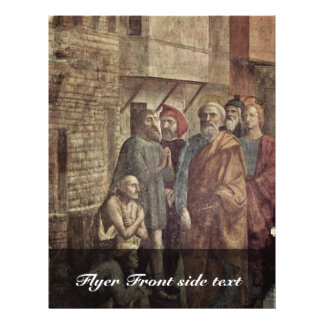 Healing The Shadow Of Peter By Masaccio (Best Qual Personalized Flyer