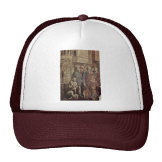 Healing The Shadow Of Peter By Masaccio Best Qual Mesh Hat