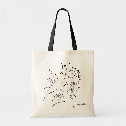 Healing Tote Budget Tote Bag