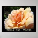 HEALING TOUCH Art Prints WARMTH Healthcare Artwork Print