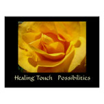 HEALING TOUCH Gifts Art Prints Rose POSSIBILITIES Posters