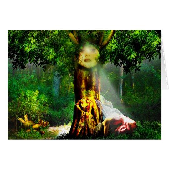 Healing Tree Card