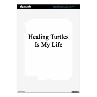 Healing Turtles Is My Life Decal For iPad 3