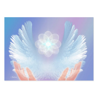 Healing with Angels Blue Business Card