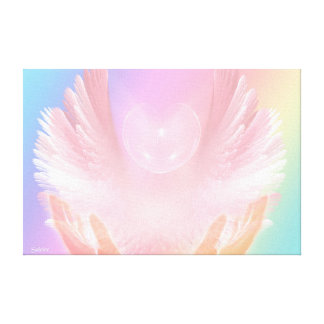 Healing with Angels Canvas Print
