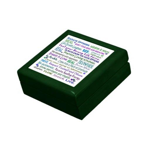 healing words giftbox keepsake box