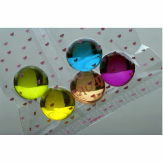 Health and beauty, colorful bath oil seeds photo cut outs