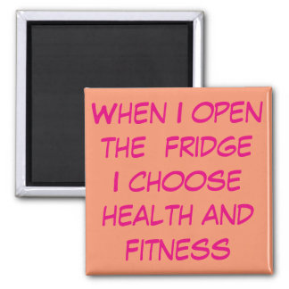 HEALTH AND FITNESS, GOOD EATING WEIGHT DIET MAGNET