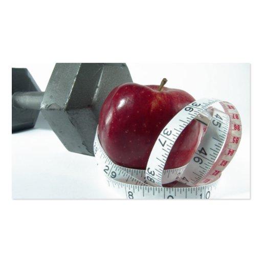 Health and Nutrcion Business Card