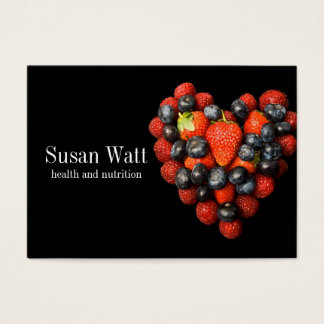 Health and Nutrition Business Card