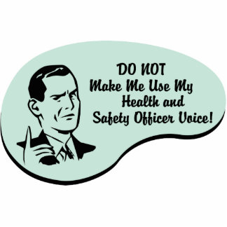 Health and Safety Officer Voice Cutout