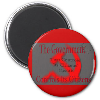 HEALTH and SICK-LE 2 Inch Round Magnet