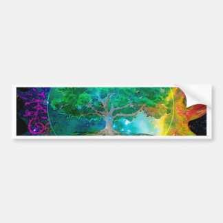 Health and Vitality Tree of Life Bumper Sticker