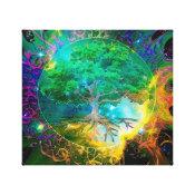 Health and Vitality Tree of Life Canvas Print (<em>$99.25</em>)