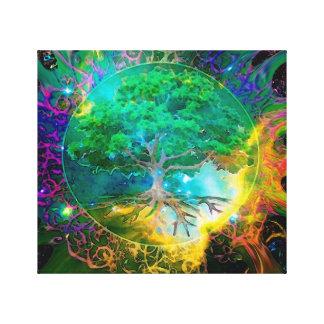 Health and Vitality Tree of Life Canvas Print