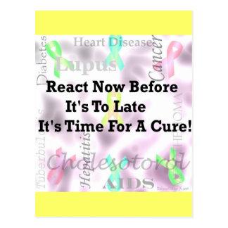 Health Awareness Postcard