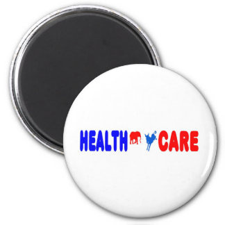 Health Care 2 Inch Round Magnet