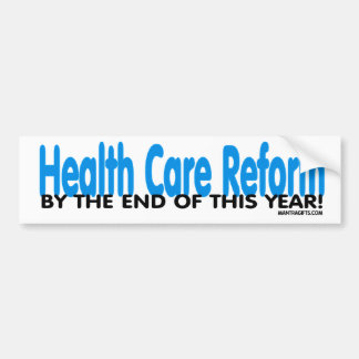 Health Care Bill Passed! Car Bumper Sticker