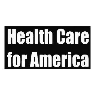 health care for america bumper card