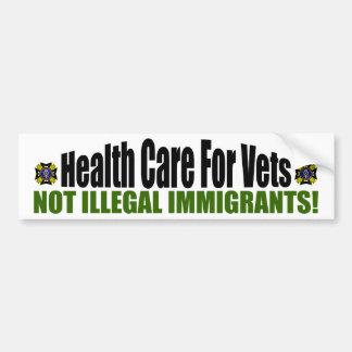Health Care For Vets Bumper Sticker