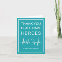 Health Care Heroes Thank You Card