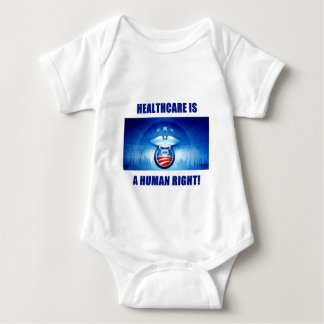 Health Care is a Human Right! Baby Bodysuit